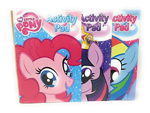 Kids Summer Fun Indoor Playtime Color Activity Coloring Booklet Extreme Fun My Little Pony
