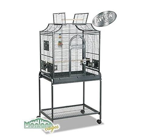 Montana Madeira I jaula de pájaros - Alambre metálico en un estilo ...