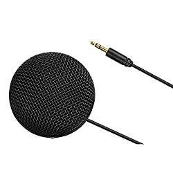 BOYA BY-MM2 Professional Omnidirectional Stereo Microphone Table Top Conference Mic with Furry Windshield for iPhone 8 8 plus, iPad Canon Nikon Sony DSLR Camera