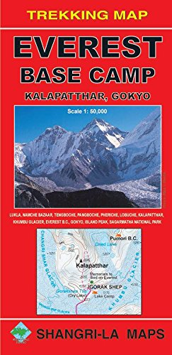Map Scales (Everest Base Camp - Trekking Map - Scale 1: 50 000)