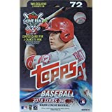 TRADING_CARDS_MISC_TRADING_CARDS  Amazon, модель 2018 Topps Baseball Factory Sealed Series One Hanger Box with 72 Cards per box including 2 RETAIL EXCLUSIVE Legends in the Making Cards and Possible Autos, Game Used Relic cards and more, артикул B079N2G17H