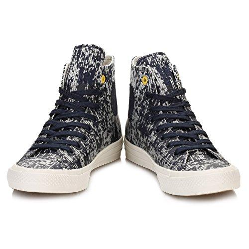 Converse Herren CTAS II Hi Sneakers Blau-Weiß