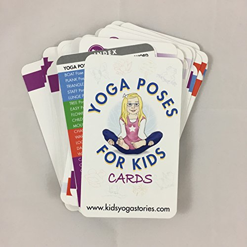 Price comparison product image Yoga Poses for Kids Cards (Deck One)