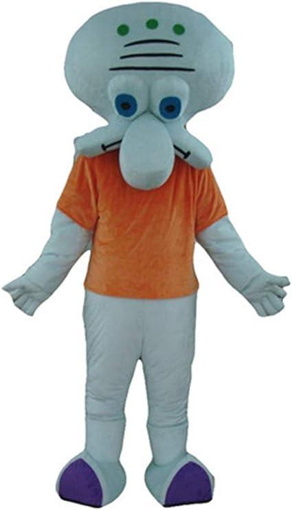 Squidward - Disfraz de Criatura de Cangrejo de Krusty Bob Esponja ...