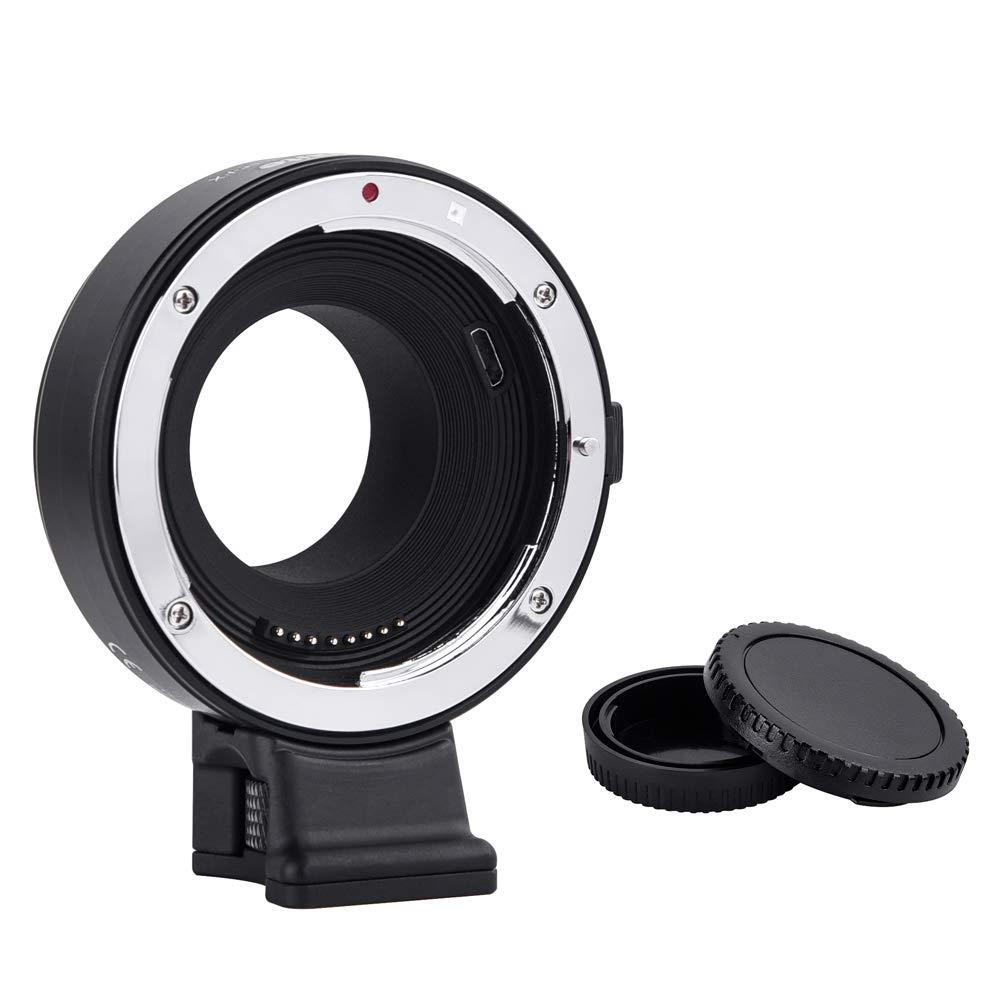 Commlite CM-EF-FX Auto Focus Lens Mount Adapter for Canon Tamron Sigma Lens to Fujifilm FX Mirrorless Camera X-T100 X-T20 X-T3 X-H1 X-A5 X-T2 X-PRO2 X-T10 X-T1 X-E2 X-M1 X-E1