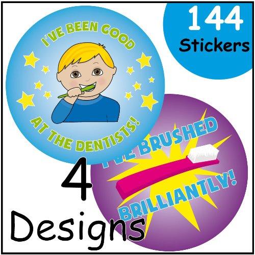Dental Themed Reward Stickers