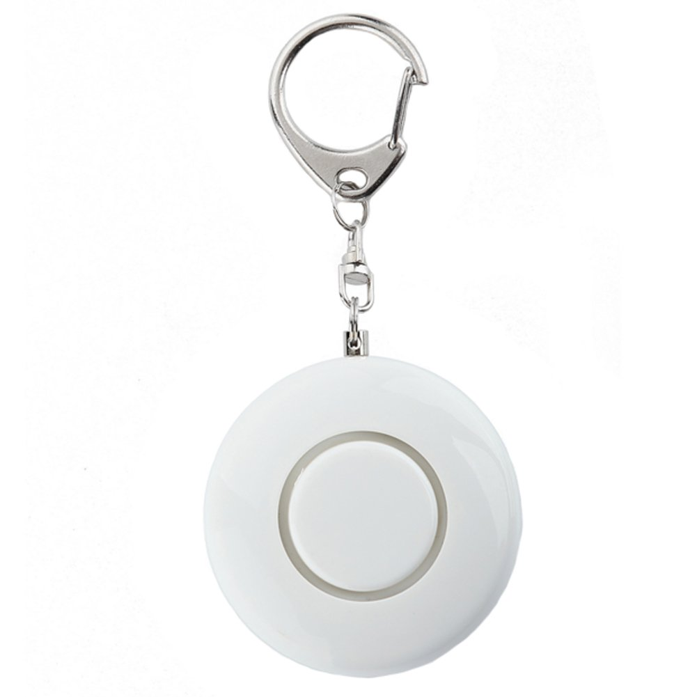 Womens/Children Emergency Self-Defence Personal Security Keychain Alarm, White Kylin Express