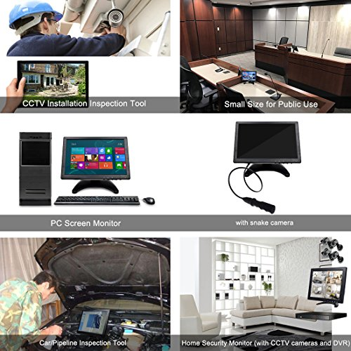 Toguard 10 1 Quot Inch Portable Computer Monitor Hd 1280x800