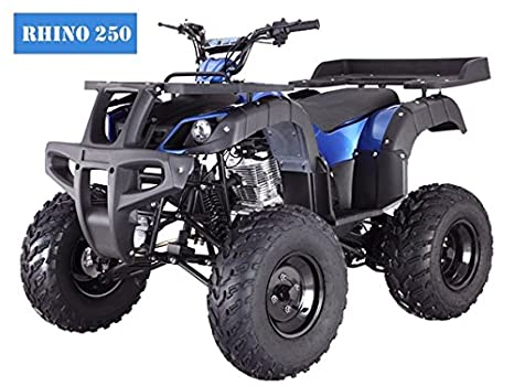 BRAND New Adult Size ATV with standard manual clutch and BIG TIRES with REVERSE TAO TAO Rhino 250cc