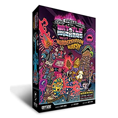 Cryptozoic Entertainment Epic Spell Wars III Melee at Murdershroom Marsh Board Game: Toys & Games
