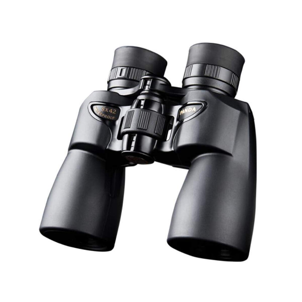 Kaiyitong Telescope, Binoculars, High-Definition Low-Light Night Vision Nitrogen-Filled Waterproof Telescope (Color : Black)