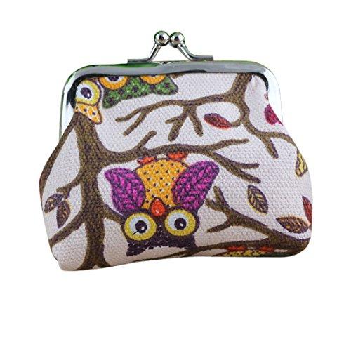 Atdoshop Lovely Owl Purse Clutch Bag Comestic Case