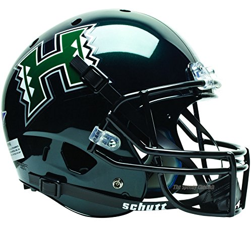 Helmet Hawaii Warriors (Hawaii Warriors Officially Licensed Full Size XP Replica Football Helmet)
