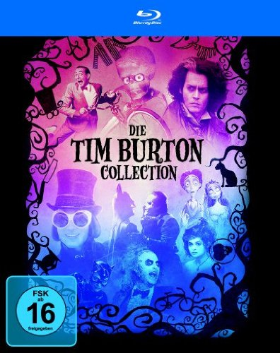 Tim Burton - Die Collection [Alemania] [Blu-ray]: Amazon.es ...