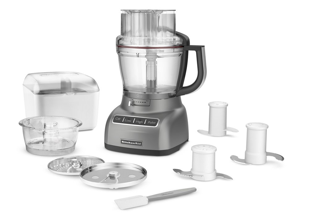 Superb Amazon.com: KitchenAid KFP1333CU 13 Cup Food Processor With ExactSlice  System   Contour Silver: Kitchen U0026 Dining