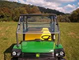 John Deere HPX XUV 625i,825i,S4 Clear Front Folding Windshield.. A Full 1/4'' THICK!!!