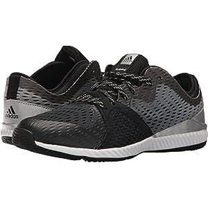 adidas Performance Women's Crazytrain Pro W Cross Trainer, Black/Metallic Silver/Black, 7.5 Medium US