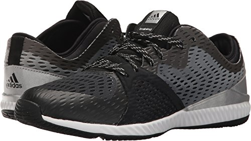 adidas Originals Women's Crazytrain Pro W Cross Trainer, Black/Metallic Silver/Black, 9 Medium...