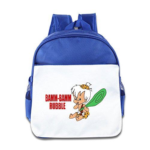 [The Flintstones Bamm Pebbles Kids Backpack RoyalBlue] (The Flintstones Halloween)