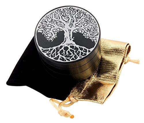 Tree-of-Life-Laser-Etched-Design-4pcs-Large-Size-Herb-Grinder-With-FREE-Scraper-Velvet-Pouch-Item-ETCH-G012317-247