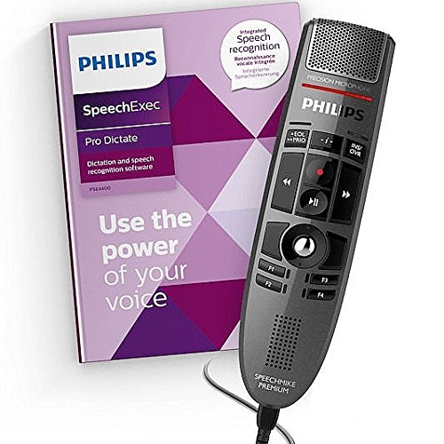 YBS Philips SpeechMike Premium Touch Dictation and Speech Recognition Set - Push Button ()