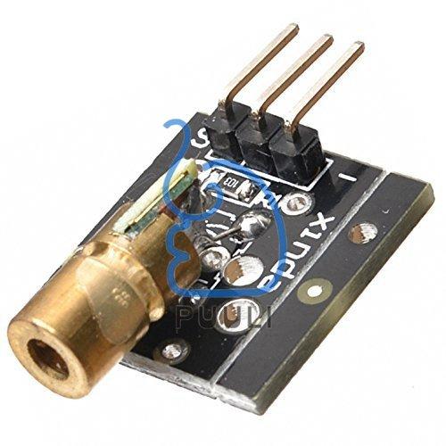 (Puuli 5V Laser head Diode Sensor PCB Module for Electronic Brick Arduino)