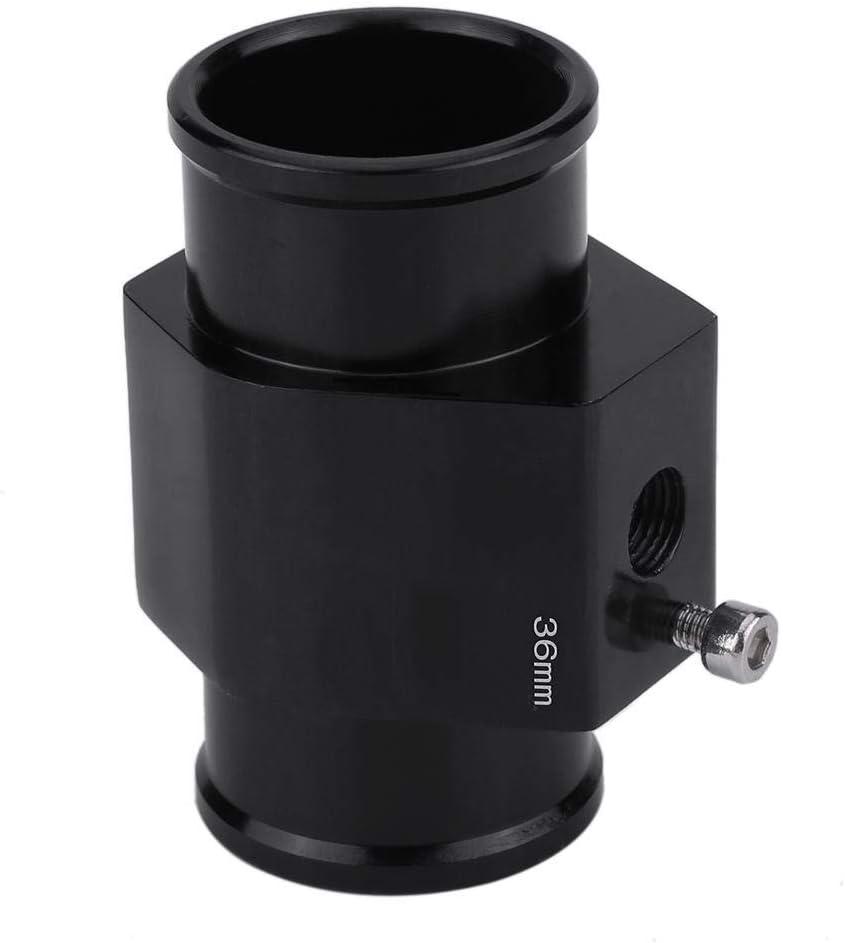 Yctze Adattatore per indicatore di temperatura del tubo flessibile per giunto di temperatura dellacqua per auto universale 28MM