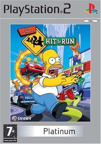 The Simpsons: Hit & Run Platinum (PS2) by Sierra UK