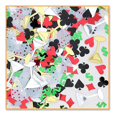 Beistle CN080 Casino Night Confetti