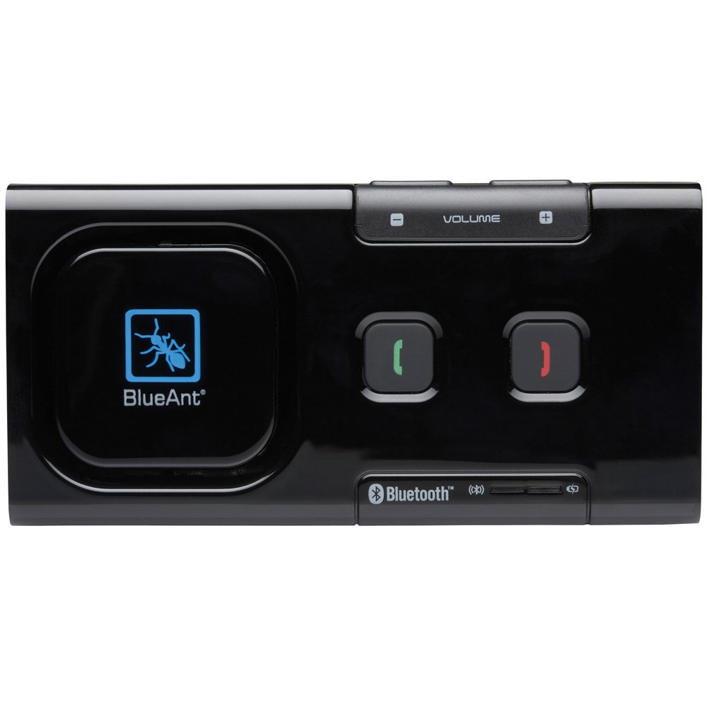 Black BlueAnt Supertooth Light Bluetooth Speakerphone