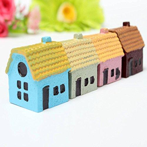 Bazaar Miniatur Haus Verzierung Blumentopfpflanze Garten Microlandschaft