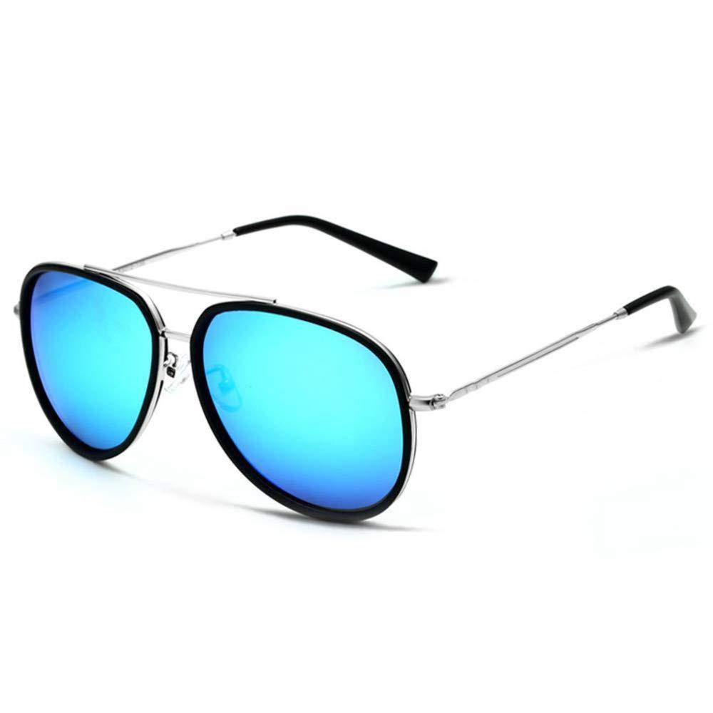 TtKj Men's Sunglasses Outdoor Sports Car Driving Beach Shading Polarized Bright Color Shingr