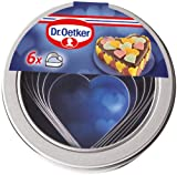 Dr. Oetker 6 Piece Heart-Shaped Cookie Cutters