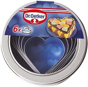 Dr. Oetker 2185 - Moldes para galletas, forma de corazón