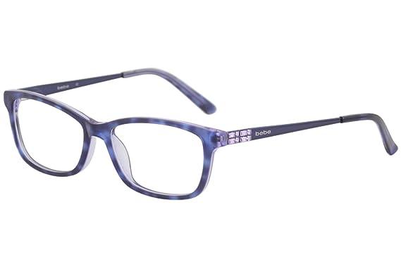 9fa6cae9731 Eyeglasses bebe BB5084 BB 5084 Plum Tortoise at Amazon Men s ...