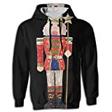 Ballet Dancer Men's Novelty First Quality Long Sleeve Hoodie Printed For Jogger Sportswear