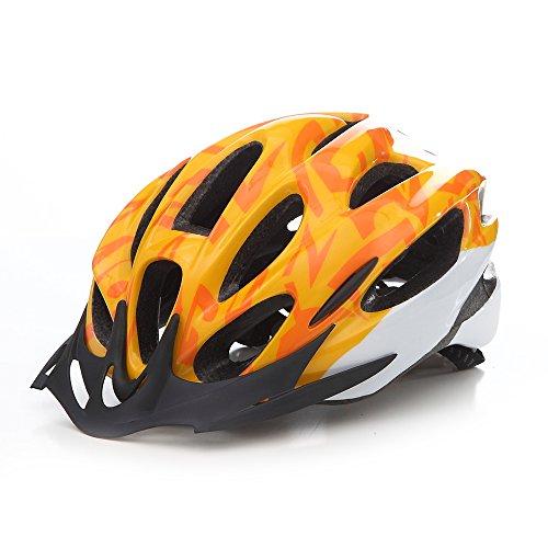 Gotaout Bicycle Helmet Orange Breathable Bike Helmets