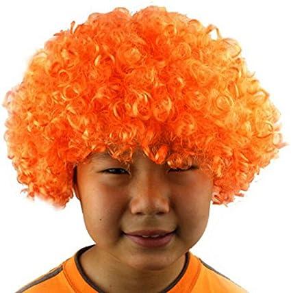Parrucca pagliaccio TOYMYTOY Parrucche da clown per costume della festa Carnevale in Rosa
