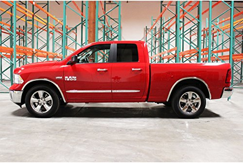 Carrichs | 2009-2018 Dodge Ram 1500 (without OEM Flares) Stainless Steel Fender Trim