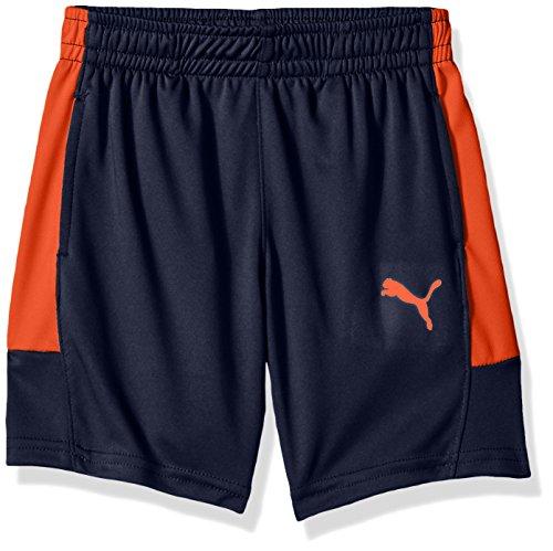 PUMA Little Boys' Marselo Shorts, Peacoat ()