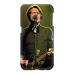 Protective Hard Phone Cover For Samsung Galaxy S6 With Customized HD Franz Ferdinand Band Pattern Marycase88