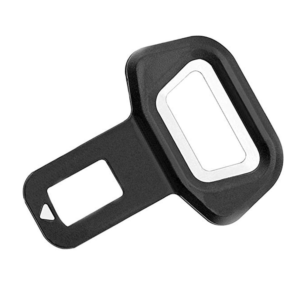 KINJOHI 2Pcs Universal Lock Belt Buckle Seat Socket Clasp Insert Safety Clip Compatibility With Car Truck