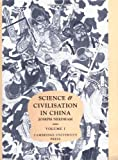 Image of 001: Science and Civilisation in China. Volume 1: Introductory Orientations