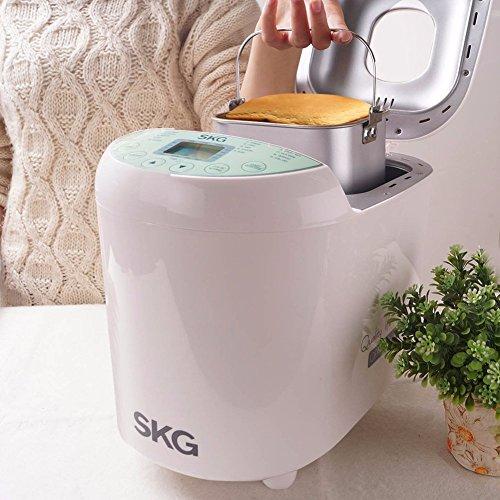 SKG Automatic Bread Machine 2LB - Beginner Friendly Programmable Bread Maker by SKG (Image #4)'