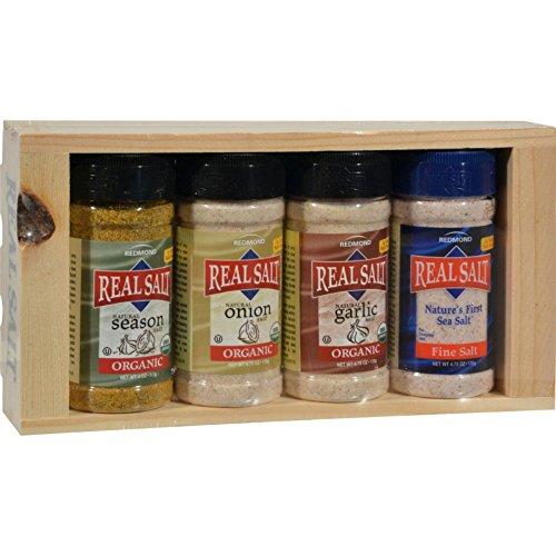 Real Salt Seasoning 4 Piece Gift Set by Real Salt