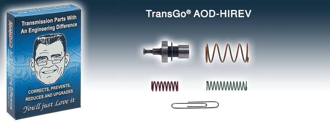 Transgo AODHIREV Valve Body Kit Hi Reverse AOD