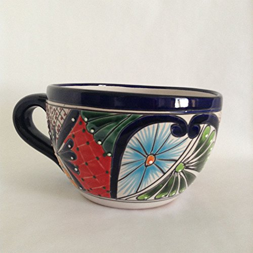 Mug Flower Planter Pot - Mexican Talavera - Bonita Plaza