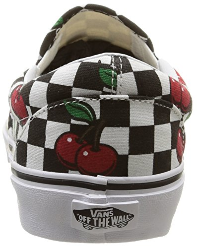 VansU CLASSIC SLIP-ON CHERRY CHECKERS - Zapatillas Unisex adulto Cherry Checkers/Black/True White