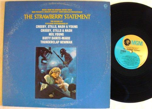the Strawberry Statement soundtrack, 2 LP