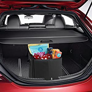 Swiss+Tech Swiss+Tech Expandable Cargo Storage Organizer Bin for Cars/Trucks/SUVs/RVs - Black